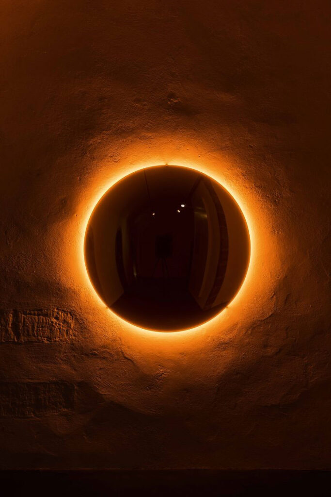 Olafur Eliasson, Black Glass Sun, 2017.